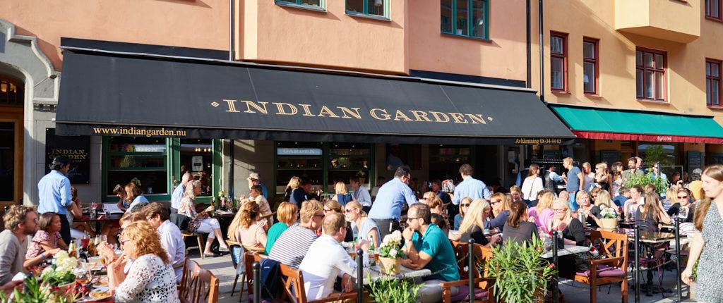 Indisk mat medborgarplatsen